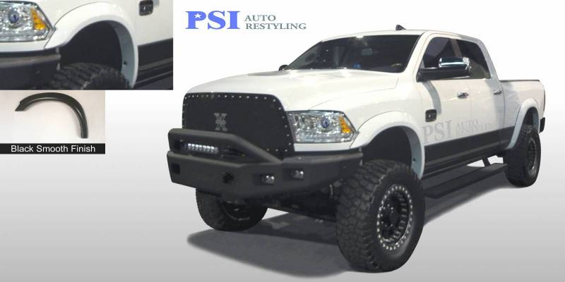 2016 Dodge/RAM RAM 2500/ 2500 Extension Style Smooth Fender Flares