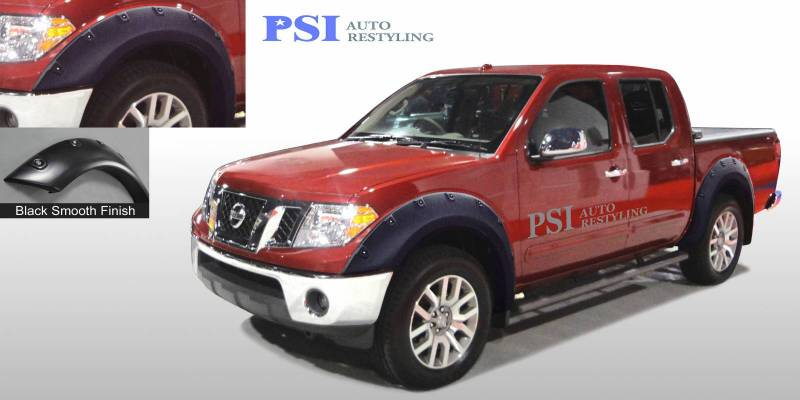 2008 Nissan Frontier Pop Out Style Smooth Fender Flares
