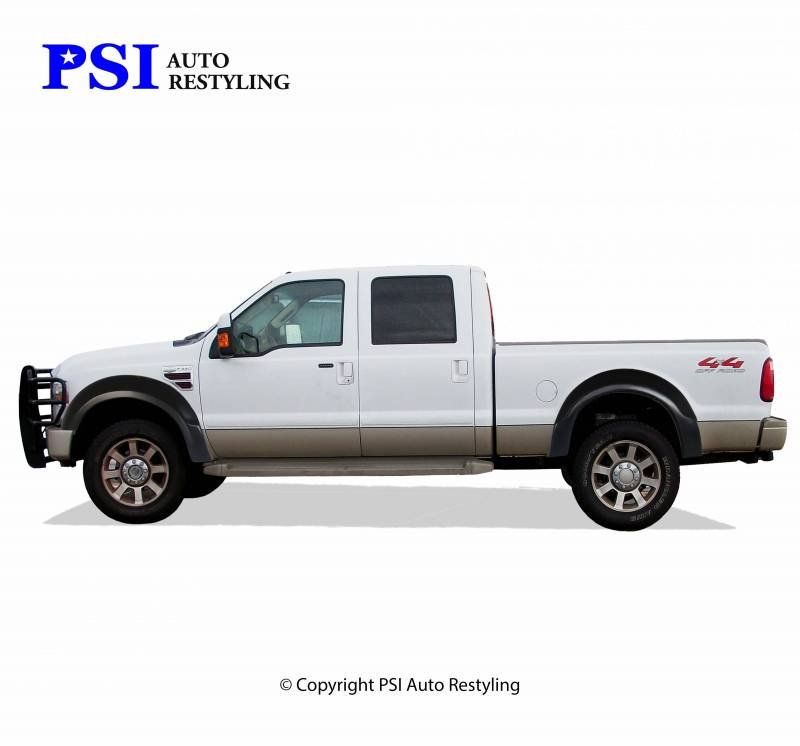 2008 Ford F 250 Super Duty Oem Style Smooth Fender Flares