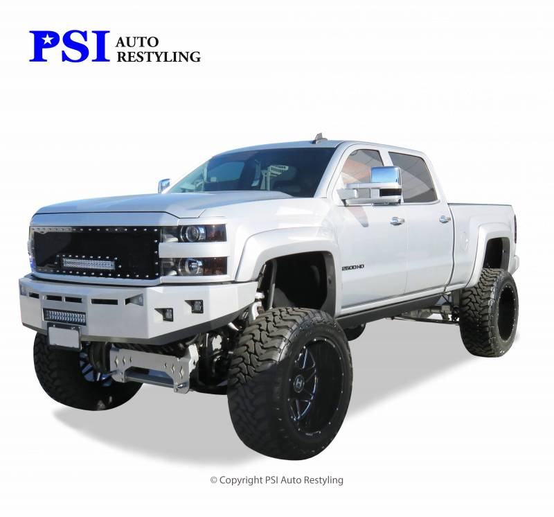 2015 Chevrolet Silverado 2500 Extension Style Smooth Fender Flares