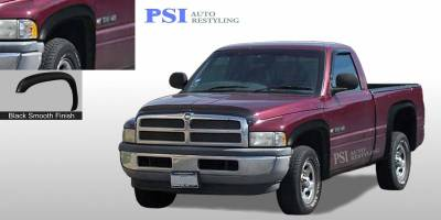 PSI - 2000 Dodge RAM 2500 Rugged Style Smooth Fender Flares
