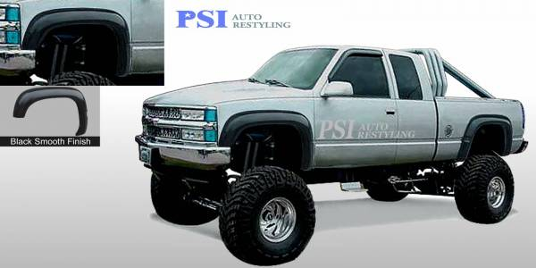 PSI - 1988 Chevrolet K 1500 Extension Style Smooth Fender Flares