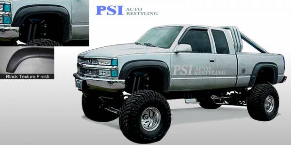 PSI - 1995 Chevrolet Suburban Extension Style Textured Fender Flares