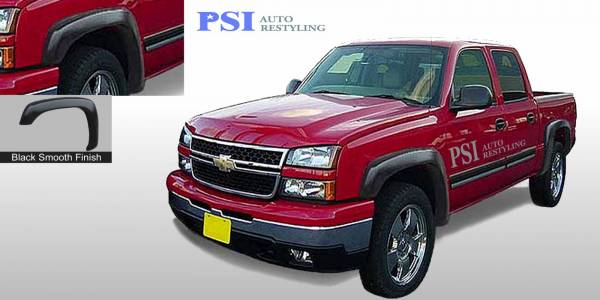 PSI - 1999 GMC Sierra 1500 Extension Style Smooth Fender Flares