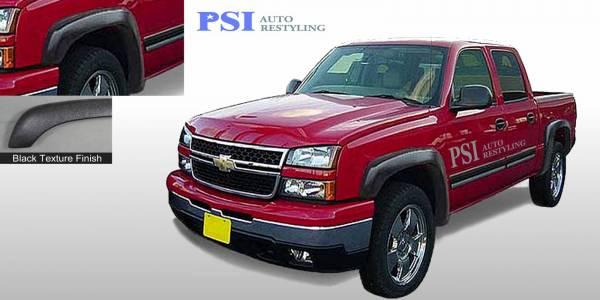 PSI - 2006 Chevrolet Silverado 1500 Extension Style Textured Fender Flares