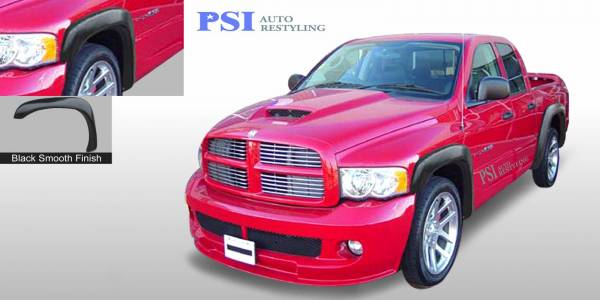 PSI - 2009 Dodge RAM 3500 Extension Style Smooth Fender Flares