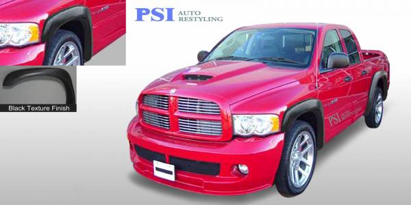 PSI - 2008 Dodge RAM 3500 Extension Style Textured Fender Flares
