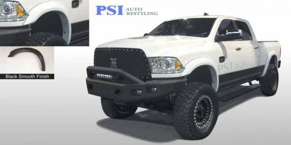 PSI - 2013 Dodge/RAM RAM 3500/ 3500 Extension Style Smooth Fender Flares