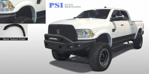 PSI - 2016 Dodge/RAM RAM 3500/ 3500 Extension Style Textured Fender Flares