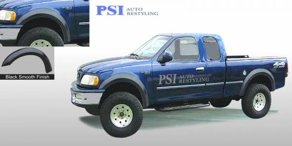 PSI - 1997 Ford F-150 Extension Style Smooth Fender Flares