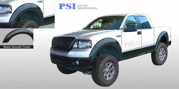 PSI - 2004 Ford F-150 Extension Style Smooth Fender Flares