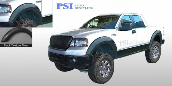 PSI - 2004 Ford F-150 Extension Style Textured Fender Flares