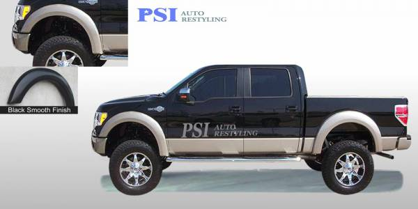 PSI - 2009 Ford F-150 Extension Style Smooth Fender Flares