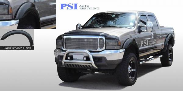 PSI - 2000 Ford F-350 Super Duty Extension Style Smooth Fender Flares