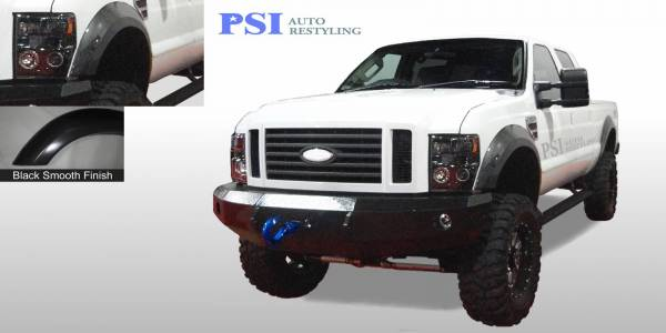 PSI - 2008 Ford F-250 Super Duty Extension Style Smooth Fender Flares
