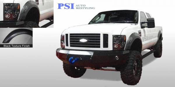 PSI - 2010 Ford F-350 Super Duty Extension Style Textured Fender Flares