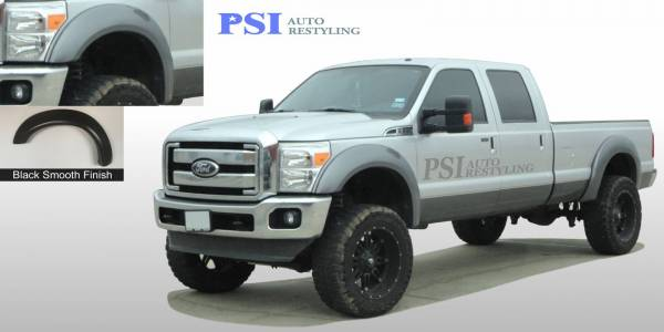 PSI - 2011 Ford F-250 Super Duty Extension Style Smooth Fender Flares