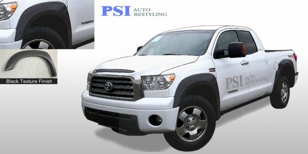 PSI - 2012 Toyota Tundra Extension Style Textured Fender Flares