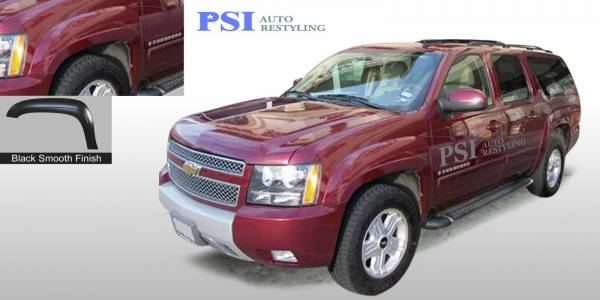 PSI - 2008 Chevrolet Suburban OEM Style Smooth Fender Flares