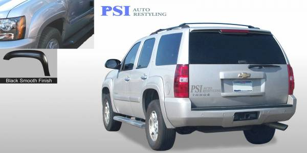 PSI - GMC Sierra 1500 OEM Style Smooth Fender Flares