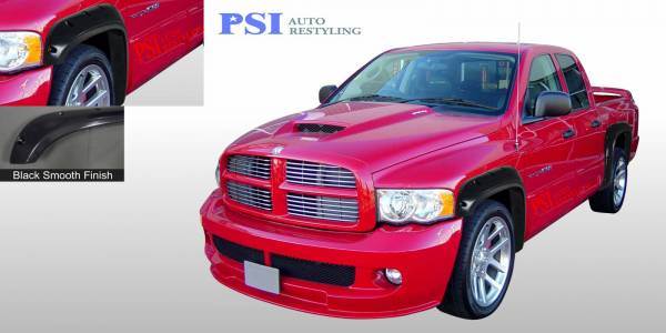 PSI - 1999 Dodge RAM 1500 Pocket Rivet Style Smooth Fender Flares