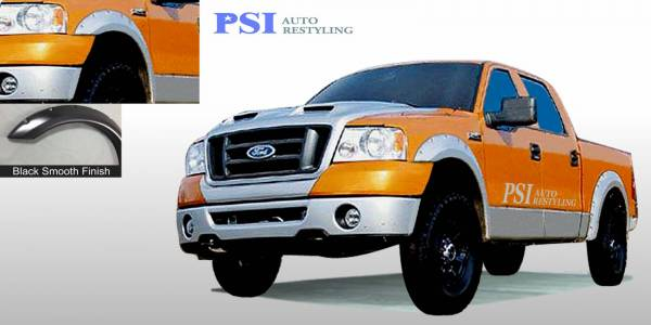 PSI - 1998 Ford F-150 Pocket Rivet Style Smooth Fender Flares