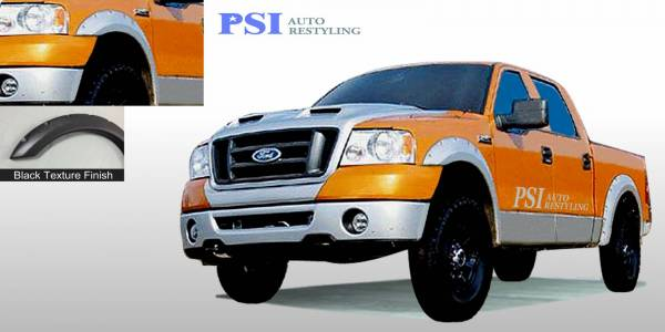 PSI - 2004 Ford F-150 Heritage Pocket Rivet Style Textured Fender Flares