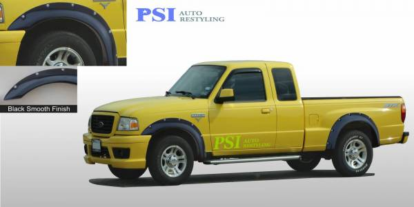 PSI - 2003 Ford Ranger Pocket Rivet Style Smooth Fender Flares