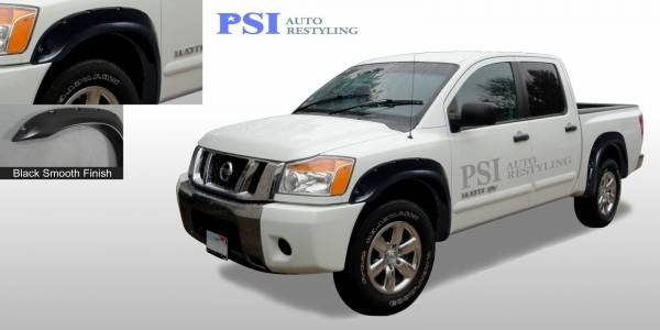 PSI - 2004 Nissan Titan Pocket Rivet Style Smooth Fender Flares