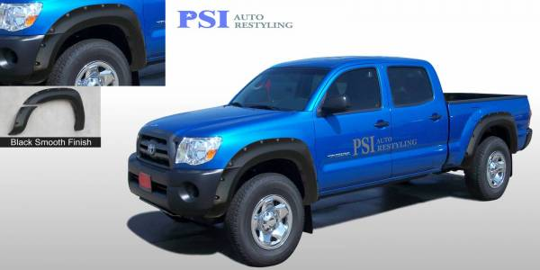 PSI - 2005 Toyota Tacoma Pocket Rivet Style Smooth Fender Flares
