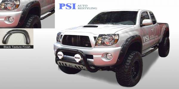 PSI - 2005 Toyota Tacoma Pocket Rivet Style Textured Fender Flares