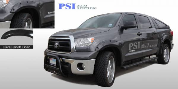 PSI - 2013 Toyota Tundra Pocket Rivet Style Smooth Fender Flares