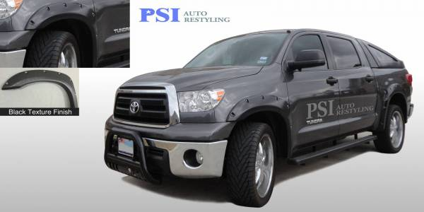 PSI - 2007 Toyota Tundra Pocket Rivet Style Textured Fender Flares