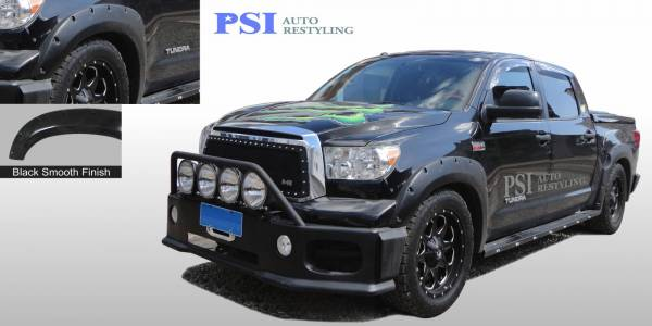 PSI - 2010 Toyota Tundra Pocket Rivet Style Smooth Fender Flares