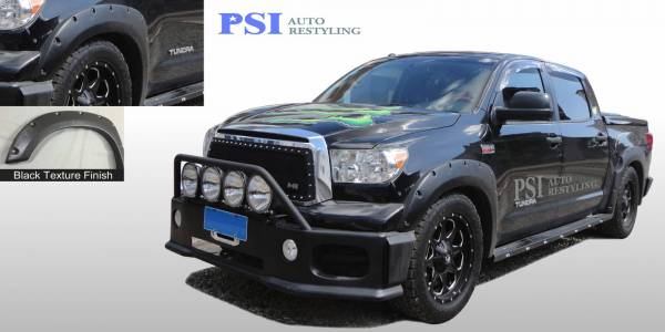 PSI - 2013 Toyota Tundra Pocket Rivet Style Textured Fender Flares