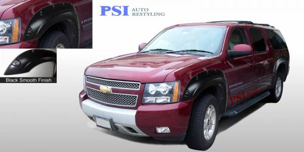 PSI - 2008 Chevrolet Suburban Pop-Out Style Smooth Fender Flares