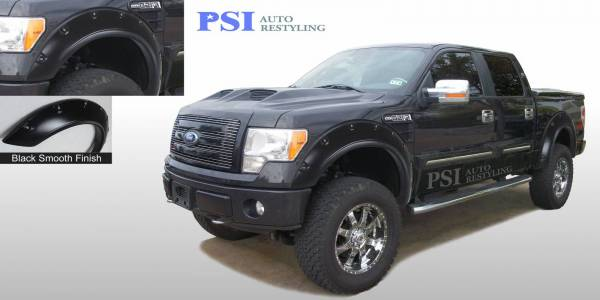 PSI - 2012 Ford F-150 Pop-Out Style Smooth Fender Flares