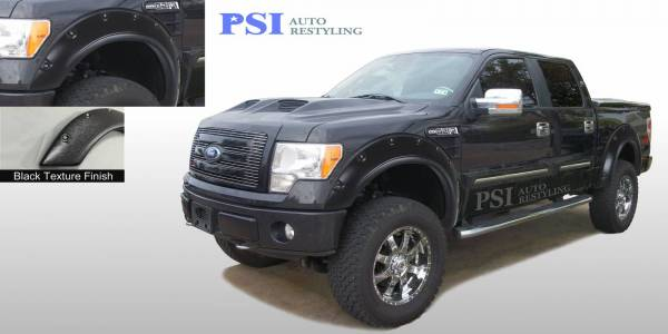 PSI - 2010 Ford F-150 Pop-Out Style Textured Fender Flares