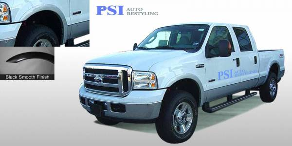 PSI - 2004 Ford F-250 Super Duty Rugged Style Smooth Fender Flares