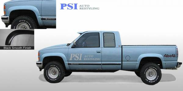 PSI - 1996 GMC K 1500 Rugged Style Smooth Fender Flares