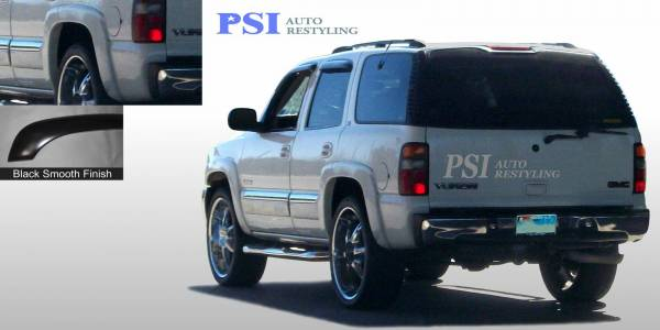 PSI - 2002 GMC Yukon Rugged Style Smooth Fender Flares