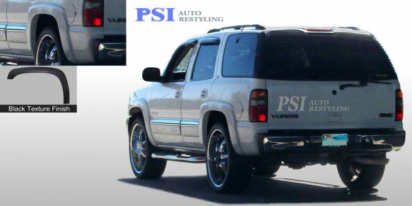 PSI - 2004 GMC Yukon Rugged Style Textured Fender Flares