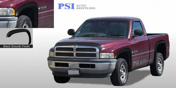PSI - 1995 Dodge RAM 1500 Rugged Style Smooth Fender Flares