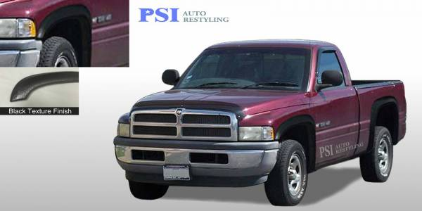 PSI - 1996 Dodge RAM 3500 Rugged Style Textured Fender Flares