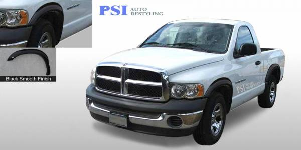 PSI - 2009 Dodge RAM 2500 Rugged Style Smooth Fender Flares