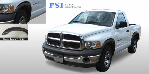 PSI - 2002 Dodge RAM 1500 Rugged Style Textured Fender Flares