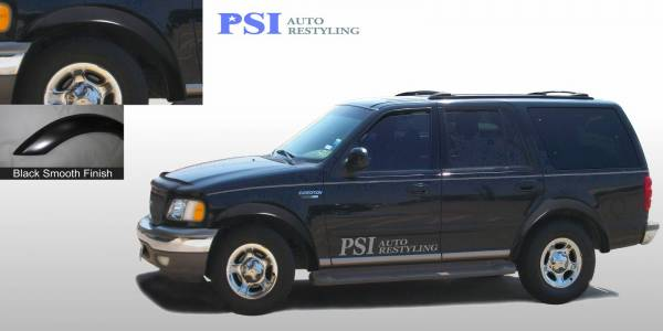 PSI - 2001 Ford Expedition Rugged Style Smooth Fender Flares
