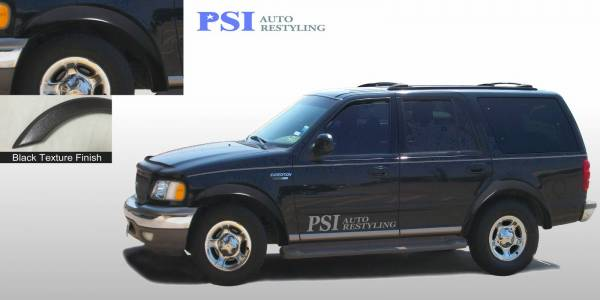 PSI - 1998 Ford Expedition Rugged Style Textured Fender Flares