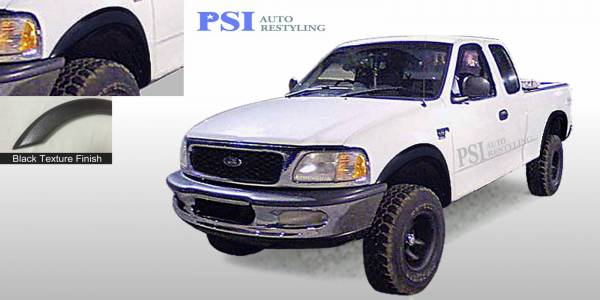 PSI - 1998 Ford F-150 Rugged Style Textured Fender Flares