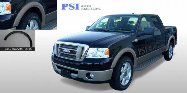 PSI - 2008 Ford F-150 Rugged Style Smooth Fender Flares